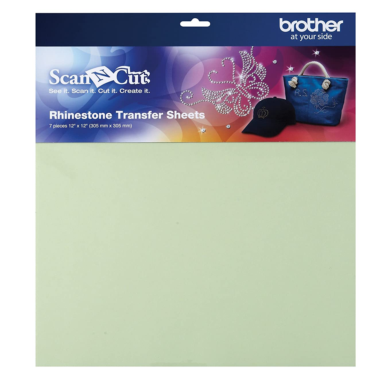 Brother ScanNCut CARSTS1 Rhinestone Transfer Sheets