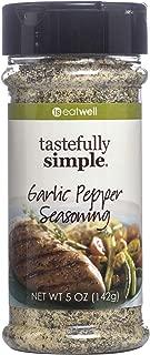 Tastefully Simple Garlic Pepper Seasoning - 5 oz