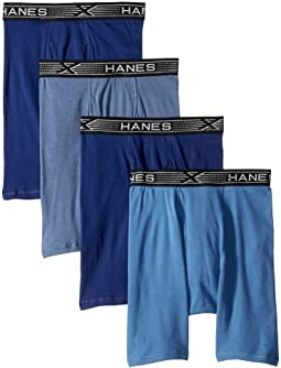 4-Pack Xtemp Long Leg Boxer Briefs