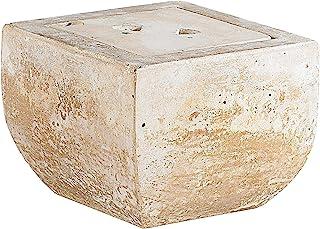 Carlo Milano Feuerschale: Terracotta-Dekofeuer Scodella für Bio-Ethanol Terassenfeuer