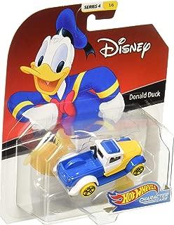 Hot Wheels 2019 Character Cars Donald Duck 1/64 Diecast Model Car