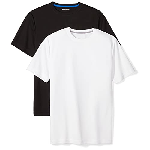 ca3905e941b Amazon Essentials Men s 2-Pack Performance Short-Sleeve T-Shirts