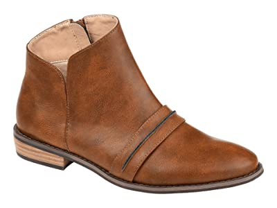 Journee Collection Harlow Bootie (Brown) Women