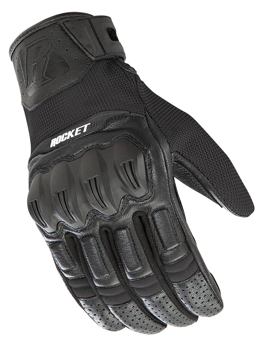 Joe Rocket Men's Phoenix 5.1 Hybrid Motorcycle Glove (Black, X-Large)