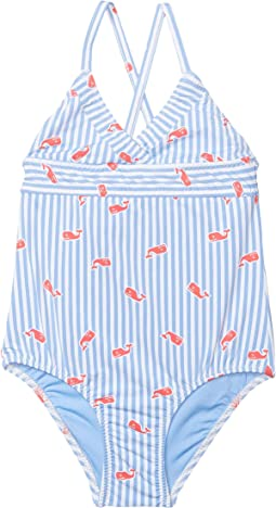 Whale Printed Feeder One-Piece (Toddler/Little Kids/Big Kids)