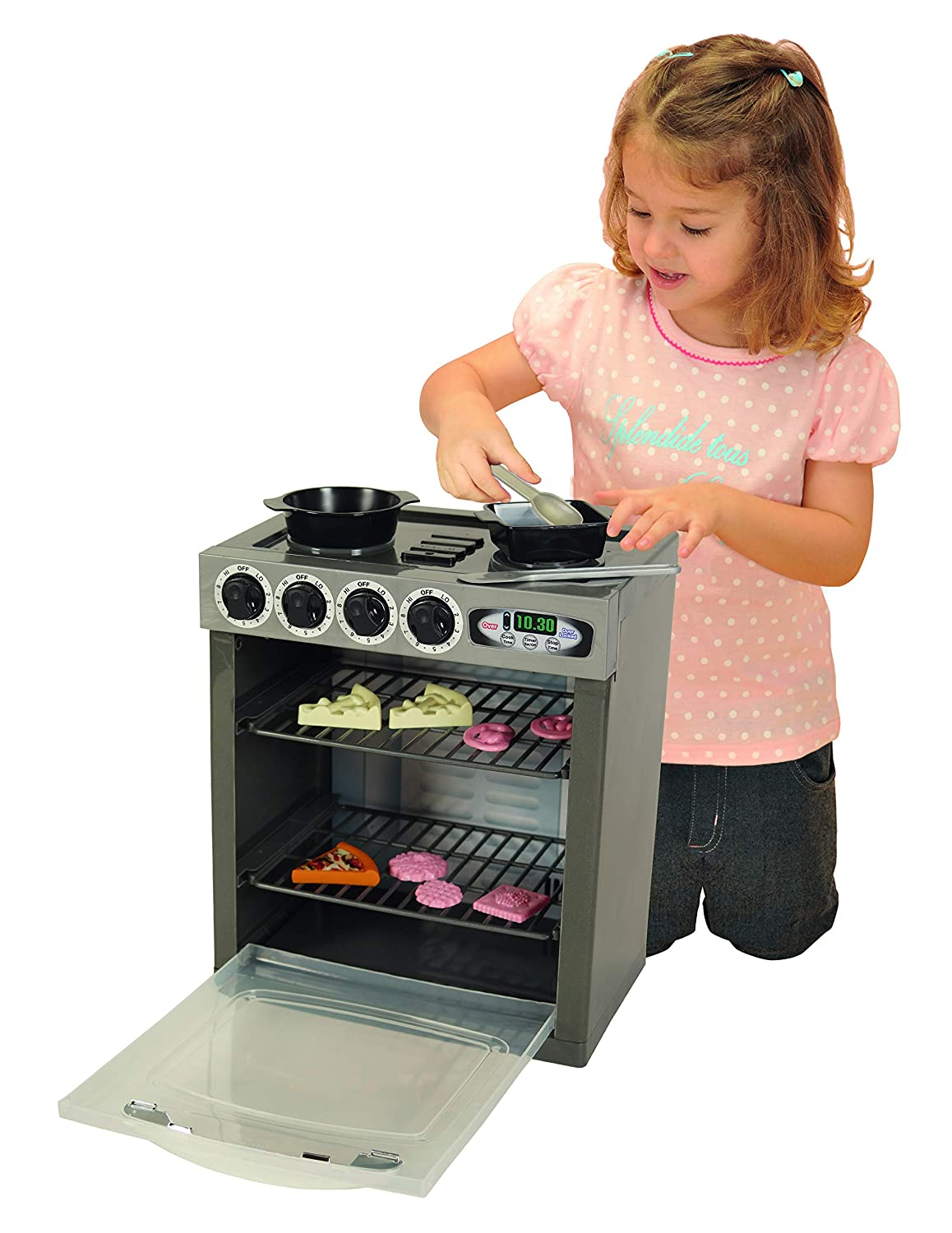 Pavlov'z Toyz Ultra-Cheap Special sale item Deals Electronic Playset Stove 16 Count