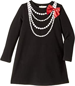 Kate Spade New York Kids - Pearl Necklace Dress (Toddler/Little Kids)