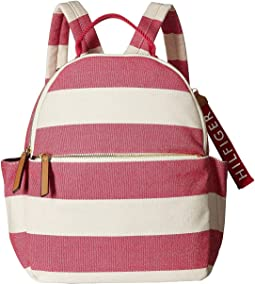 Classic Tote Backpack Woven Rugby