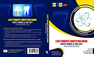 Last Minute Question Bank for NEET MDS & INI CET