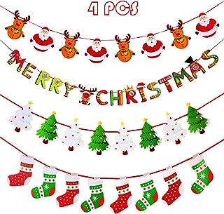 Best christmas garland banner Reviews