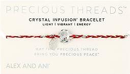 Alex and Ani - Precious Threads Crystal Swarovski Crystal Sangria Braid