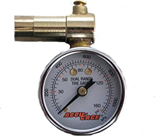 AccuGage Tire Pressure Dial Gauge