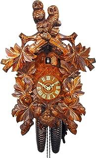 August Schwer Cuckoo Clock Owls, Nest