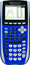 $159 » Texas Instruments TI-84 Plus C Silver Edition Graphing Calculator with Color Display (Blue) (Renewed)