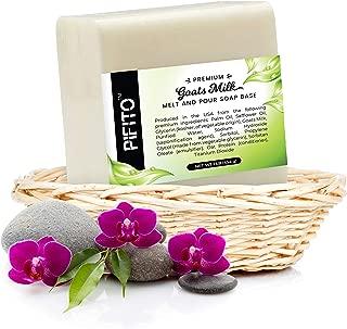 Pifito Goats Milk Melt and Pour Soap Base (2 lb) │ Premium 100% Natural Glycerin Soap Base │ Luxurious Soap Making Supplies