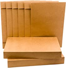 Hallmark Shirt Size Gift Boxes (Pack of 5; Kraft Brown) for Birthdays, Christmas, Holidays, Father's Day and More