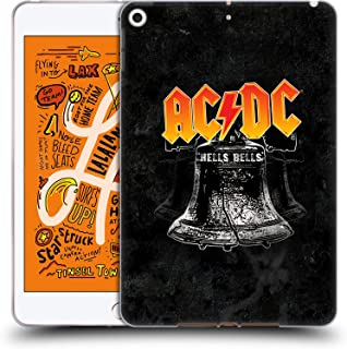 Official AC/DC ACDC Hells Bells Song Titles Soft Gel Case Compatible for iPad Mini (2019)