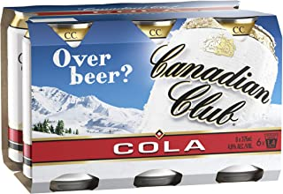 Canadian Club & Cola Cans 6pk 375ml (Pack Of 6)