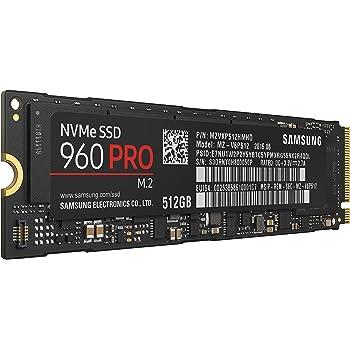 Samsung 960 Pro 512GB Internal PCIe Solid State Drive (MZ-V6P512BW)