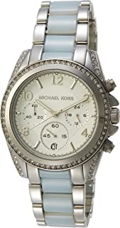 Michael Kors Womens Quartz Watch, Analog Display and Stainless Steel Strap MK6137