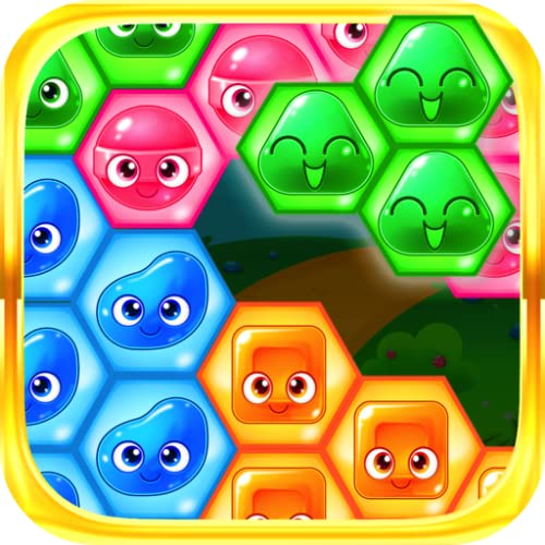 Candy Hexagon Blast - Puzzle Block Hexa FREE