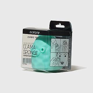 Esponja de Limpeza Facial, Llama Sponge, Océane, Océane, Verde