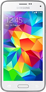 Samsung Galaxy S5 Mini G800F Unlocked Cellphone, International Version, 16GB, White