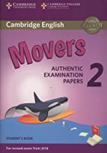 Cambridge English Young Learners 2 for Revised Exam from 2018 Movers Student's Book (Cambridge Young Learners Engli)