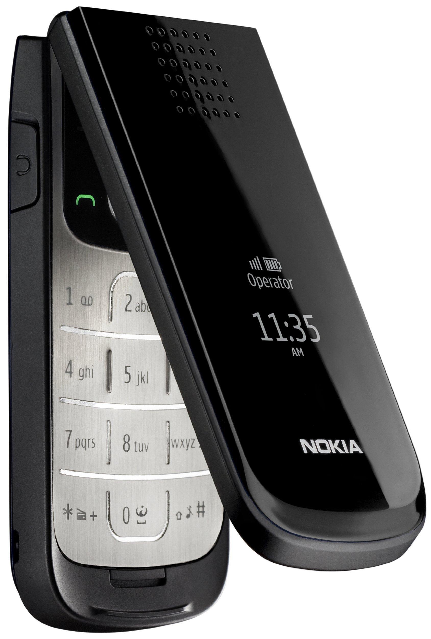 Nokia 2720 fold - Móvil libre (32 MB de capacidad) color negro ...