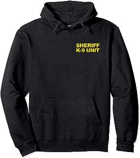 sheriff k9 hoodie