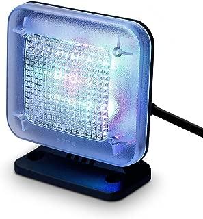 Home Security TV Light — BLINGSTAR LED TV Program Simulator Dummy Burglar Intruder Thief Deterrent Crime Prevention Device Built-in Light Sensor Timer US Plug(Peace of mind while you are away)