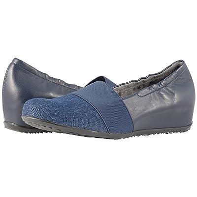 SoftWalk Wonder (Denim/Navy Linen/Leather) Women
