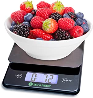 Digital Kitchen and Food Scale - Cooking and Portion Control With Precision Made Easy - Up