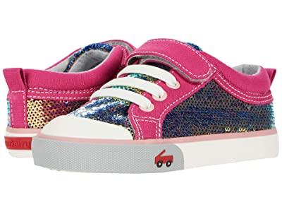 See Kai Run Kids Kristin (Toddler/Little Kid) (Berry/Sequins) Girls Shoes