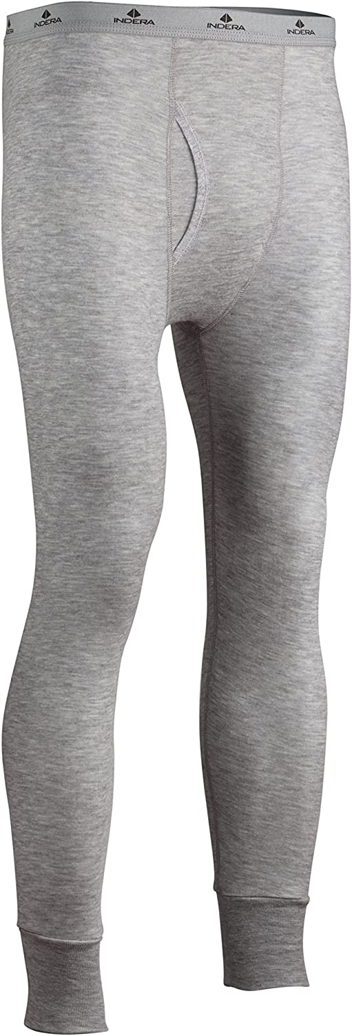 Indera Men's Long Drawers-Dual Thermal Face Silvadur Cheap mail Max 77% OFF order shopping with