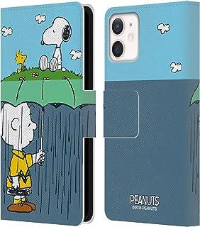 Head Case Designs Officieel Gelicentieerd Peanuts Charlie, Snoppy & Woodstock Halfs En Lacht Lederen Book Portemonnee Cove...