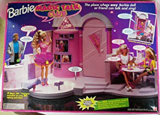 Barbie MAGIC TALK CLUB Playset CLUB HOUSE w Electronic Voices, Music, Flashing Lights & MORE! (1992)