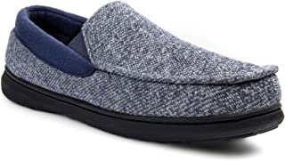 RockDove Men's Moc Slipper with SILVADUR Anti-Odour Fabric