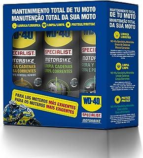 comprar comparacion WD-40 34553 Total de Moto en Ambiente Húmedo Specialist Motorbike Spray, 400mL, Caja de 3