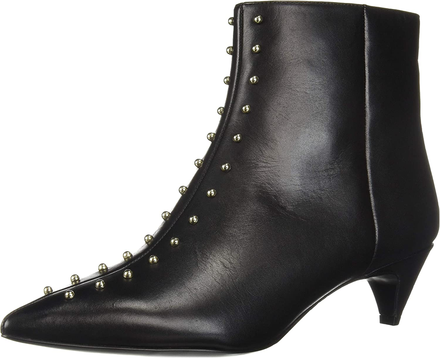 c69a8927851bf Nine West Women's Zyrannia Leather Ankle Boot, qaqw187e43821-New Shoes