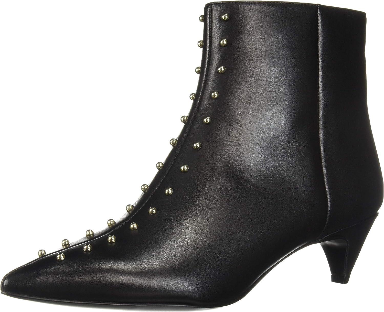 2873aeaa28e22 Nine West Women's Zyrannia Leather Ankle Boot, qaqw187e43821-New Shoes