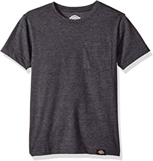 Dickies Boys Slim Fit Lightweight Tee Short Sleeve T-Shirt - Black - Large