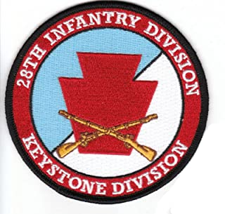 28th Infantry Division with Rifles Patch
