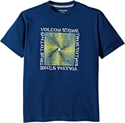 Volcom Kids Stone Radiator Short Sleeve Tee (Big Kids)