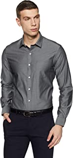 Arrow Men's Solid Slim Fit Formal Shirt