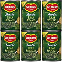 Del Monte Leaf Spinach, 13.5 oz, 6 pk