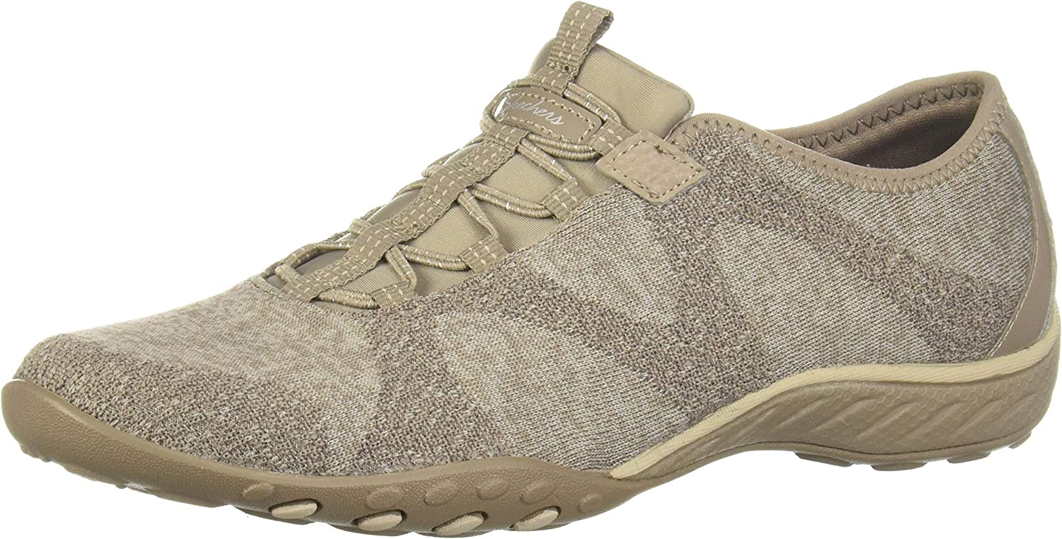 Skechers Women's Relaxed Fit Breathe Easy Don't miss the campaign Opportuknity - On Ranking TOP13 Slip