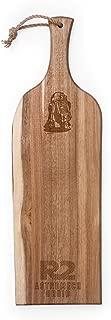 Lucas/Star Wars R2-D2 Artisan Acacia Wood Serving Plank, 24-Inch
