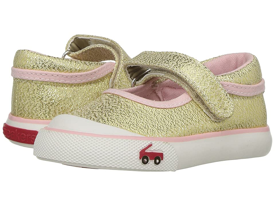 See Kai Run Kids Marie (Toddler) (Gold Glitter) Girls Shoes