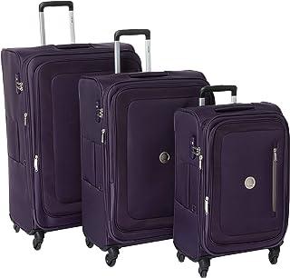 ديلسي اورال مجموعة حقائب سفر بعجلات، 82-71-61 سم - ارجواني